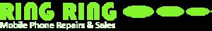 ring ring mobile phone repairs logo
